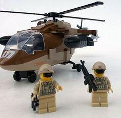 Modbrix 2329 - ★ US ARMY Black Hawk Hubschrauber inkl. custom US Special Forces Soldaten aus original Lego© Teilen ★ Modbrix http://www.amazon.de/dp/B01C5XIU60/ref=cm_sw_r_pi_dp_Y673wb1YY4M8T