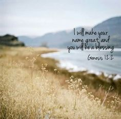 Genesis 12:2 | GENESIS | Pinterest | Amen