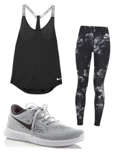 """Untitled #210"" by briannaxbolivar on Polyvore featuring NIKE"