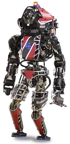 ATLAS Humanoid Robot for the DARPA Robotics Challenge Robot Chassis, Exoskeleton Suit, Military Robot, Ai Robot, Boston Dynamics, Battle Robots, Real Robots, Humanoid Robot, Nuclear Disasters