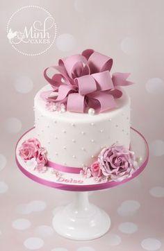 Minh Cakes Mädchen Geburtstagstorte Delsa - Home Page Bolo Fondant, Fondant Cakes, Cupcake Cakes, Cupcakes, 21st Birthday Cakes, Birthday Cakes For Women, Girl Birthday, Happy Birthday, Cake Decorating Techniques