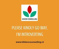 Speciaal voor de introverten onder ons :-)