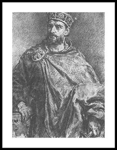 King Mieszko II Lambert of Poland, King of Poland Direct ancestor generations) Poland History, Framed Prints, Art Prints, King Queen, Great Artists, Tapestry, Statue, Artwork, Poster