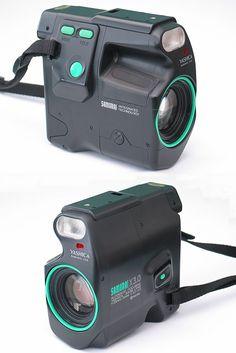 Yashica Samurai X3.0 - This is a film SLR that takes half-frame photos. That is, it gets 72 shots on a roll of 36 frames of film.