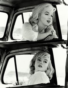 """Marilyn on the set of """"The Misfits"""", 1961"""