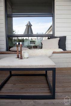 Ohjeet betonipöydän tekemiseen (by Mankku) - Valkoinen Harmaja | Divaaniblogit