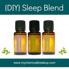 DIY Essential Oil Sleep Blend