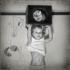 photo: Topology of Child Portrait | photographer: Andy Prokh | WWW.PHOTODOM.COM