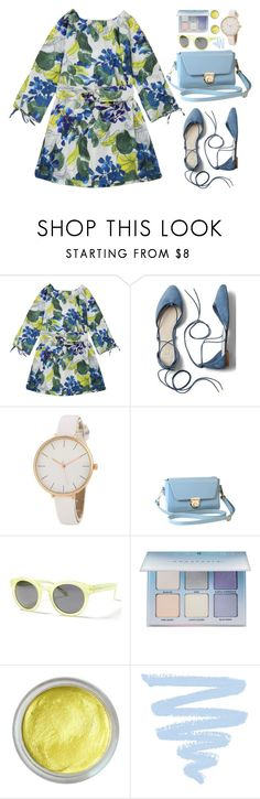 """""""Mother's Day Brunch Goals"""" by justkejti ❤ liked on Polyvore featuring Gap, Banana Republic, Anastasia Beverly Hills, Forever 21, floraldress, zaful and brunchgoals"""