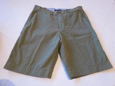 Men's Tommy Hilfiger 33 Classic Fit shorts 313 Olivine 7857272 walk casual TH #TommyHilfiger #shorts