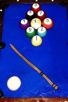 Billiards Cake Pops