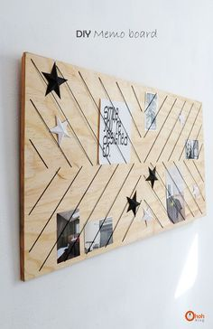 Ohoh Blog - diy and crafts: DIY Memo board