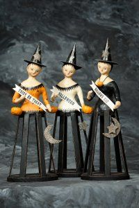 Halloween Cage Witches designs by Nicol Sayre