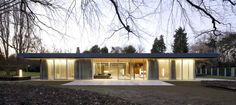 """""""Kanzler Bungalow"""", the German Chancellors' venue for formal receptions. Built in 1963."""