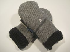 MMC0438 Galesburg Wool Mittens  med/lg by MichMittensbyLauri, $23.00