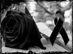 Imágenes De Rosas De Luto Para Pin con cinta