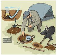 Camping Survival, Bushcraft Camping, Diy Camping, Wilderness Survival, Family Camping, Survival Prepping, Survival Gear, Survival Skills, Camping Hacks