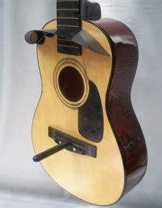 Bird house guitar one of a kind by GuitfiddleRadios on Etsy