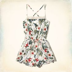 Girls Petal Short Romper | Girls Dresses & Rompers | HollisterCo.com