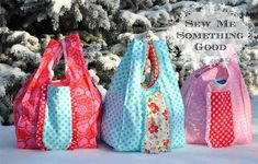 Fold'n Roll Shopping Bag Pattern
