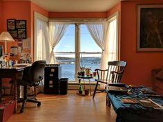 Oceanview office, Stonington Maine [4048 x 3036] OC : RoomPorn