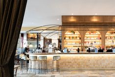 Australia's best restaurant design 2020: Nostalgia takes centre stage - The Interiors Addict Seven Restaurant, Restaurant Design, Cafe Design, Interior Design, Cool Cafe, Hospitality Design, Design Consultant, Retail Design, Design Awards