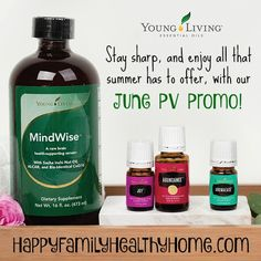 Check out Young Living essential oil June Promotions! Plus, get our favorite Joy DIY roller recipe!