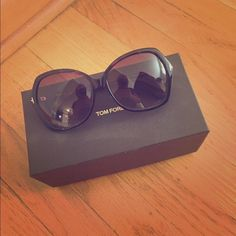 """Tom Ford sunglasses Tom Ford """"Donna"""" sunglasses. Bought in May. EXCELLENT CONDITION, just want something new! Tom Ford Accessories Sunglasses"""