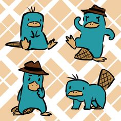 Perry the Platypus Disney Magic, Disney Art, Disney Movies, Disney And Dreamworks, Disney Pixar, Phineas E Isabella, Phineas And Ferb Memes, Le Castor, Perry The Platypus