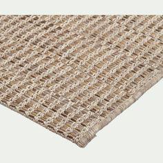 Tapis intérieur et extérieur - beige 200x290cm - LUBERON - 200x290 cm - tapis d'extérieur - alinea Sisal, House Design, Cool Stuff, Rugs, Authentique, Home Decor, Beige, Serein, Totalement