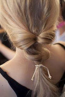 Hairstyle Tutorial: Topsy Tail