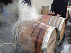 Clare Valley, August 2013, Taylors, Auburn, Barrel, Events, Cleaning, Wine, Barrel Roll
