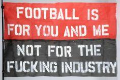 Studio Dumbar: Commentary Football flag