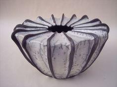 Große Vase Raku
