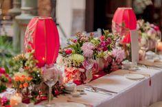Timeless Elegance - The Wedding Notebook magazine Chinese Wedding Decor, Oriental Wedding, Oriental Hotel, Wedding Mood Board, Wedding Table, Our Wedding, Asian Party Themes, Bridal Car, Wedding Notebook