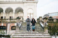 Couple shoot Vondelpark   Een gezellige, winterse fotoshoot met Alexander en Sabra in de sneeuw in het Vondelpark in Amsterdam.