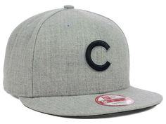 Chicago Cubs New Era MLB H-Black 9FIFTY Snapback Cap Hats