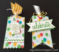 Celebrate Birthday Tags