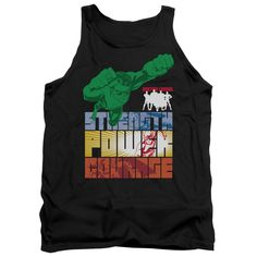 Justice League: Heroic Qualities Tank Top