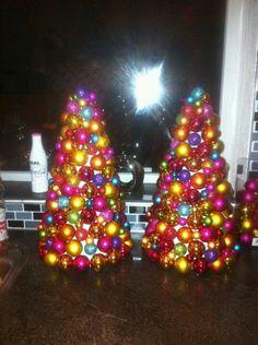 Kerstballen kerst boom