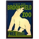 Polar Bear - 1930's Framed Print