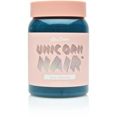 Lime Crime Dirty Mermaid Unicorn Hair Dye ($18) ❤ liked on Polyvore featuring beauty products, haircare and hair color