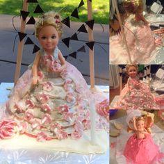 Barbie Kelly cake