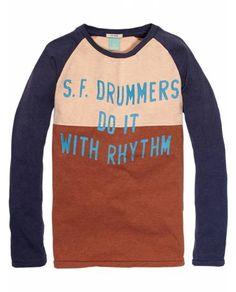 Colour Block Raglan Tee > Kids Clothing > Boys > T-shirts at Scotch Shrunk - Official Scotch & Soda Online Fashion & Apparel Shops