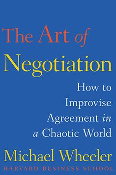 'The Art of Negotiation' New Self Help Book - Advice That Works - Oprah.com