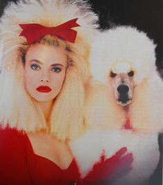 Poodle Hair fits any decade but they had the most big hair competition in the Gato Animal, Style Salon, Poodle Hair, Fru Fru, Design Poster, Dog Grooming, Puppy Love, Best Dogs, Fur Babies