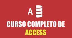 Un completo curso de Access gratis, para aprender desde lo más básico hasta lo más avanzado de este programa para bases de datos.