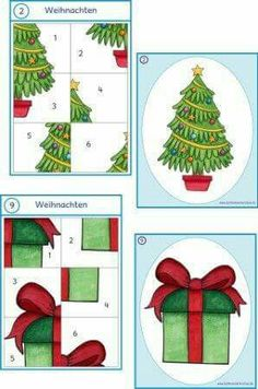 Preschool Christmas, Noel Christmas, Christmas Activities, Christmas Ornaments, Christmas Worksheets, Christmas Printables, Autism Activities, Infant Activities, Alphabet Templates