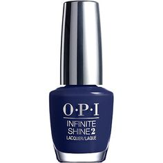 For beautiful jewel tone nails, perfect for fall, try OPI Infinite Shine 2 Lacquer in Get Ryd-of-thym Blues