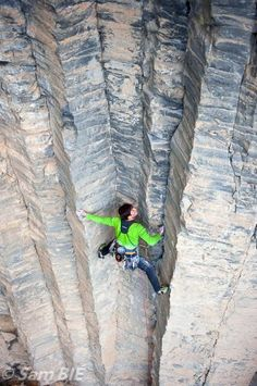 Alex Chabot and the first ascent of Our Desires Are Organs (5.12b), Garni Gorge, Armenia.